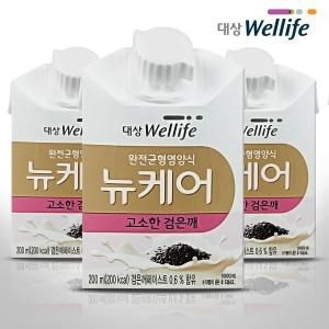 뉴케어 고소한 검은깨맛 200ml x 30팩 영양보충환자식