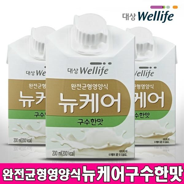뉴케어 구수한맛 200ml x 30팩 환자영양보충 식사대용