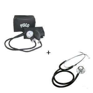 PISCO(피스코) 아네로이드 메타혈압계 + 양면 청진기