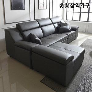 판매 1위 버나드 거위털 천연소가죽 3인/4인 소파