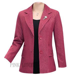 중년여성 정장자켓 양복상의 점퍼 엄마 가을 ASD4