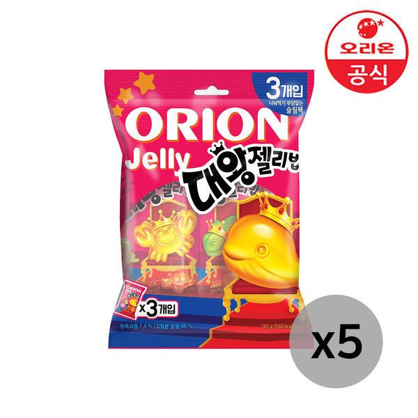 오리온 대왕젤리밥 3Px5개