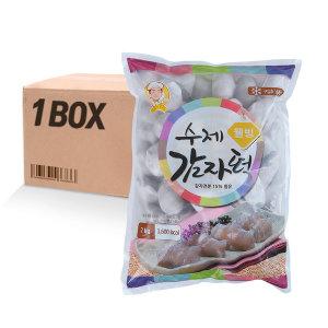 명가 웰빙 감자떡 2kg 4입 대용량 업소용 손님접대