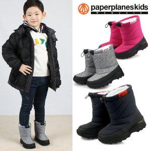 페이퍼플레인키즈  PK7792 아동 패딩 부츠 겨울 방한화 신발 유아 남아 여아 주니어
