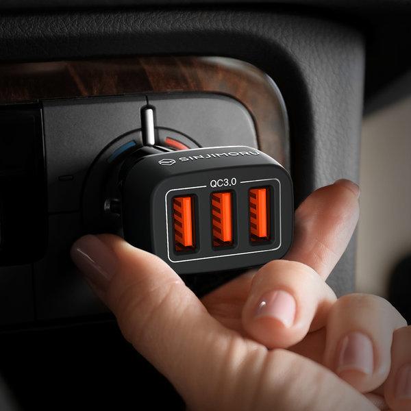 3포트 퀵차지 3.0 차량용 고속충전기
