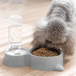강아지 고양이 애견 자동급식기 반자동 급수기 밥그릇