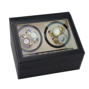 4구 오토매틱 와치와인더 시계보관함 kc인증 완료