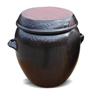 국내산 무공해 소금 항아리 6호(20kg) 전통 옹기