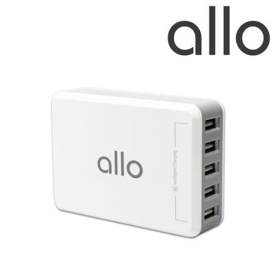 [알로코리아] 5포트 고속 멀티 충전기 알로 UC301 핸드폰 휴대폰