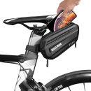 자전거 여행 안장 가방 생활방수 카본 하드케이스