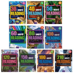(A List) Word READING 리딩 1권+2권 세트(30 40 50 60 80 100 120 150 180 210) (선택) : 영어 독해