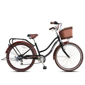 데니26 시마노7단 알루미늄 여성용자전거 스텐스포크