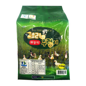 곡성농협   당일도정.이중안전박스 오리와우렁이 무농약쌀 10kg