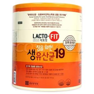 종근당건강 락토핏 장을위한 생유산균19 180포/장건강