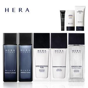 헤라 옴므 에센스 인 스킨/로션/블랙/클렌징폼/선크림