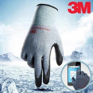 3M 슈퍼그립 겨울용장갑 5켤레 방한장갑 코팅장갑 +