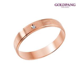 18k 피앙세 다이아몬드 반지 5타입-핑크골드 주문
