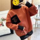 여성 폴라맨투맨 티셔츠 20대여자 기모맨투맨