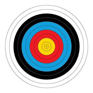 국제양궁과녁 90cm 화살쏘기 활 양궁 타켓 사냥 사격