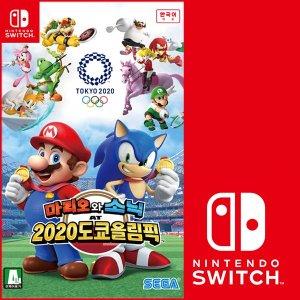 닌텐도스위치 마리오와 소닉 2020도쿄올림픽 / 한글판