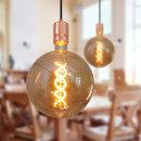 한사랑조명/LED/램프 /스모크에디슨램프G200브론즈 6W