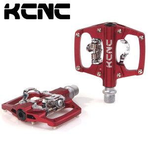 KCNC 자전거 MTB 양면페달 클릿 평페달 클립리스 발판