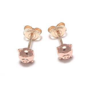 14k 귀걸이 큐티 피그 귀걸이 JNE20378