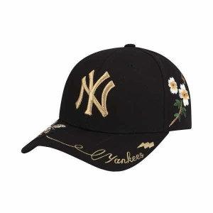 MLB  남여공용 뉴욕양키스 골드비 커브조절캡(32CPFN911-50L)