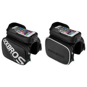 락브로스 자전거가방 프레임가방 휴대폰 탑튜브가방