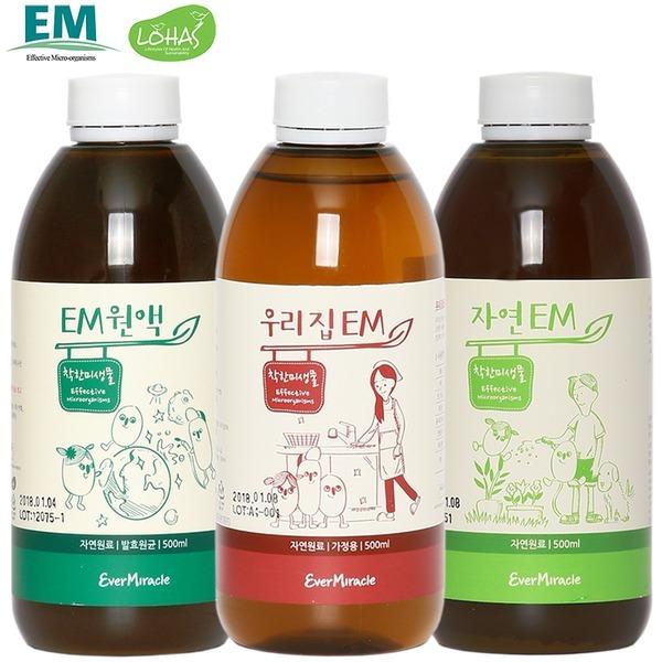 자연EM 활성액/이엠원액 우리집EM 발효액 용액 효소