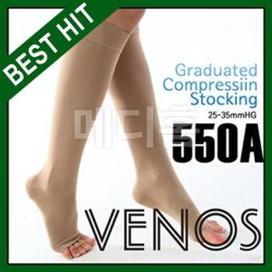 베노스 550A 무광 판타롱(무릎형) 의료용 압박스타킹