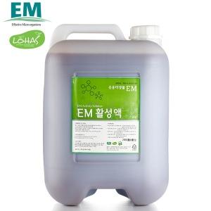 EM 활성액 20리터(L)/이엠 발효액 효소 용액 미생물