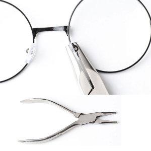 전문가용 안경코받침 안경수리 코패드 다리조절 집게