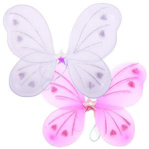 쉬폰나비날개 화이트 핑크 천사날개 엔젤날개