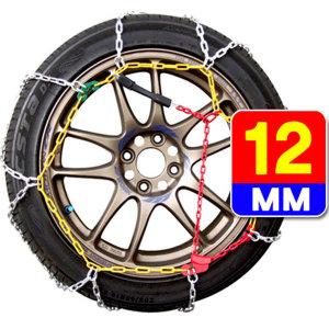 12mm Y자 합금사슬체인/스노우체인/자동차체인 KN40