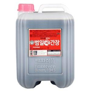 범일국간장 13L :: 밀면 냉면육수 국물요리 대용량