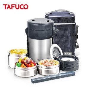 (타푸코) 타푸코TAFUCO 일체형 스텐 보온도시락 1.5L /TID-1500