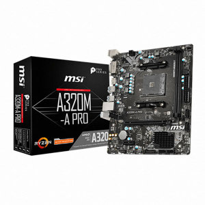 MSI A320M-A PRO 메인보드