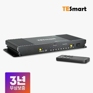 4포트 HDMI KVM 스위치 4K 60Hz 모니터 셀렉터 선택기