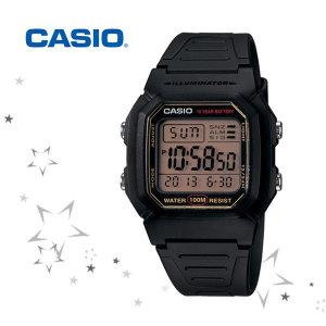 카시오 W-800HG-9A 남성 우레탄 손목 시계 c13