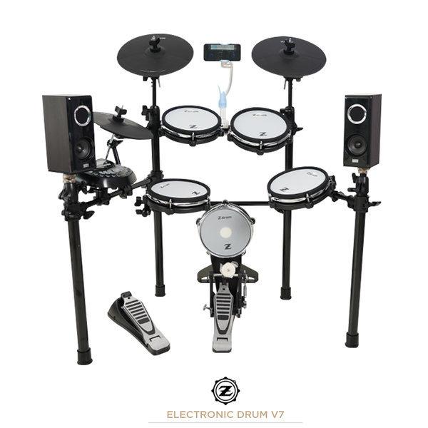 Z 전자드럼 V7 올 메쉬 교육용 드럼