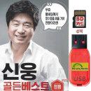 SD카드 신웅 골든베스트 100곡 효도라디오 mp3 노래칩