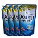 다우니 액체세제 블루 1.5Lx4개(일반용/드럼용 겸용)
