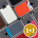 파스텔 휴대폰/스마트폰 카드케이스 파우치 (1+1)
