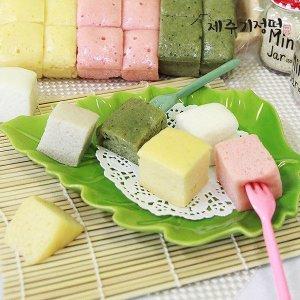 제주기정떡  자연발효 건강떡 혼합한판(4가지맛)1.9kg