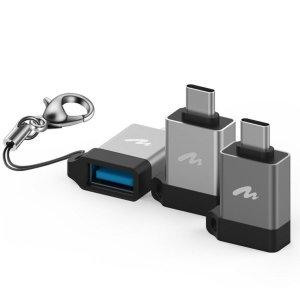 키링 USB 3.1 C타입 OTG 젠더-아트뮤