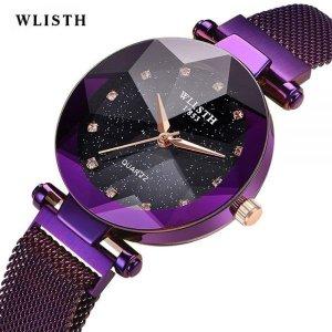 WLISHT 여성용 깔끔한 정장 패션 손목시계 S943