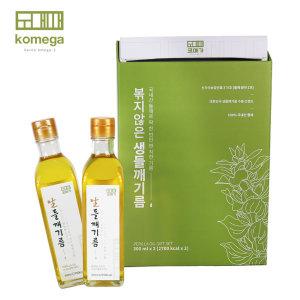 (선물세트) 볶지않아 깨끗한 생들기름 300ml