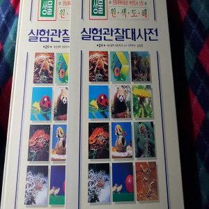 원색도해 실험관찰 대사전.생물/삼안출판.1997