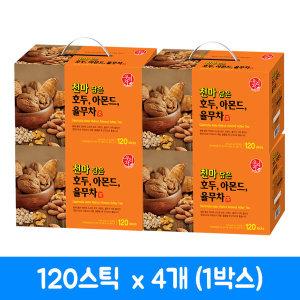 송원 천마담은 호두 아몬드 율무차 120T x4 (1박스)